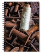 Silk Thread Spools Spiral Notebook