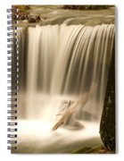 Silken Waterfall Spiral Notebook