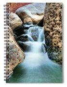 Silky Waters Of Jemez Springs Spiral Notebook