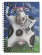 Silly Cow Spiral Notebook