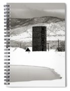 Silo And Silence Spiral Notebook