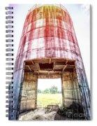 Silo Sunflare Spiral Notebook