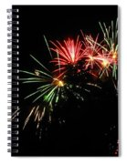 Silute 500. Lithuania. Fireworks 01 Spiral Notebook