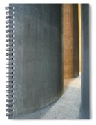 Silver And Gold In Belgium Spiral Notebook