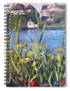 Silver Lake Blossoms Spiral Notebook