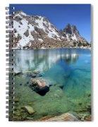 Silver Pass Tarn - Johm Muir Trail Spiral Notebook