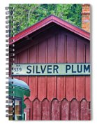 Silver Plume Station Spiral Notebook