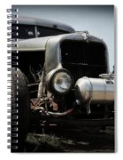 Silver Rat Rod Spiral Notebook