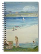 Silver Sands Spiral Notebook