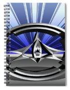 Silver Sculpture 4 Spiral Notebook