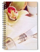 Silver Service Breakfast Setting Spiral Notebook