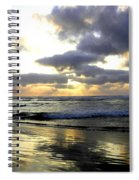 Silver Shores Spiral Notebook