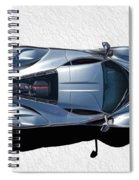Silver Side Up Spiral Notebook