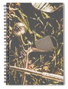 Silver Sports Spiral Notebook