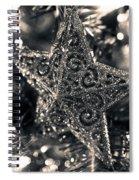 Silver Star Spiral Notebook