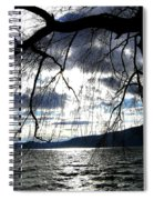 Silver Sunset Spiral Notebook