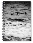 Silver Surfers Spiral Notebook