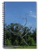 Silver Tree Spiral Notebook
