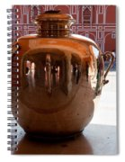 Silver Water Urn Jaipur Spiral Notebook