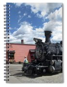 Silverton Durango Steam Train - Silverton Colorado Spiral Notebook