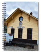 Silverton Train Depot Spiral Notebook