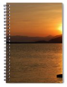 Silverwood Sunrise Spiral Notebook