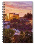 Silves Dusk Spiral Notebook