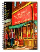 Simchas  Fruit Store Spiral Notebook