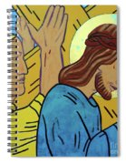 Simon Helps Jesus Spiral Notebook