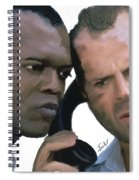 Simon Sez - Die Hard Spiral Notebook
