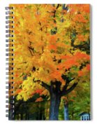 Simple And Elegant Spiral Notebook