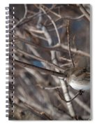 Simple Bird Spiral Notebook