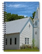 Simple Country Church Spiral Notebook