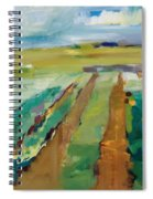 Simple Fields Spiral Notebook