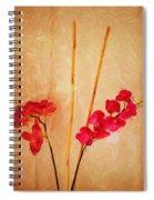 Simple Floral Arrangement  Spiral Notebook