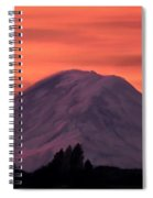 Simple Mountain Spiral Notebook