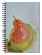 Simple Pear Spiral Notebook