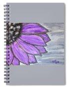 Simple Purple  Spiral Notebook