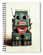 Simple Robot From 1960 Spiral Notebook