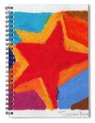 Simple Star Spiral Notebook