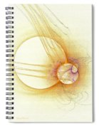 Simple With Texture Spiral Notebook