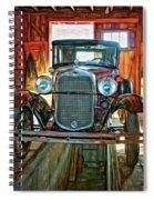 Simpler Times - Paint Spiral Notebook