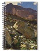 Simplon Pass Spiral Notebook