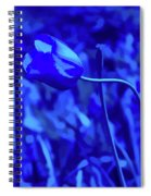 Simply Blue Pink Tulip Spiral Notebook