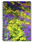 Simply Soft Colorful Garden Spiral Notebook