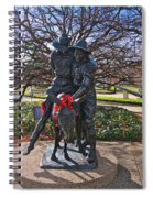 Simpson And His Donkey - Canberra - Australia Spiral Notebook