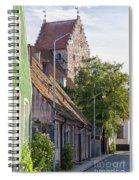 Simrishamn Street Scene Spiral Notebook