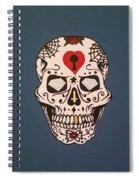 Sin Sugar Skull Spiral Notebook