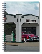 Sinclair Gasoline Spiral Notebook