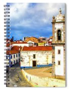 Sines Portugal Spiral Notebook